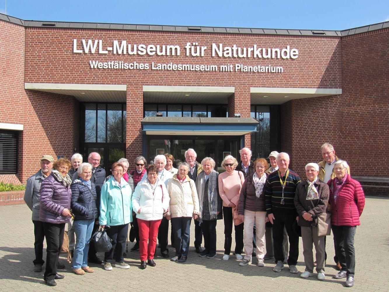 - VNU Tagesfahrt 2019 LWL Münster - Das Gehirn
